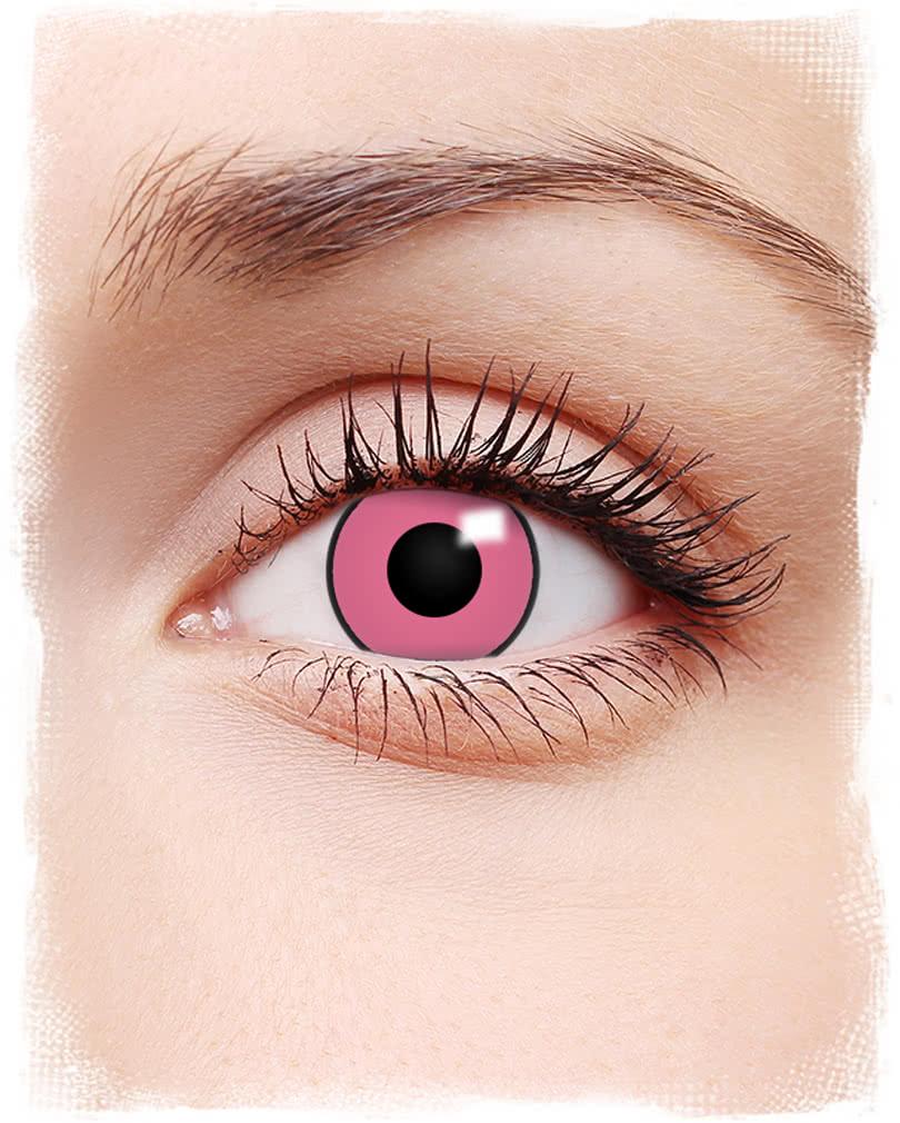 Color contact lenses online shop - Crazy Pink Contact Lenses