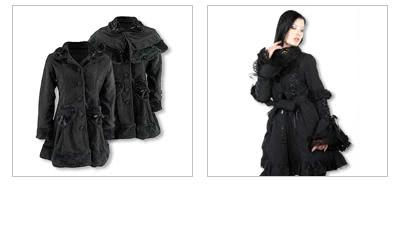 Gothic Coats and Jackets