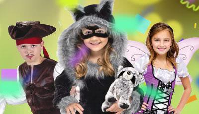 Kids' Fancy Dress Costumes