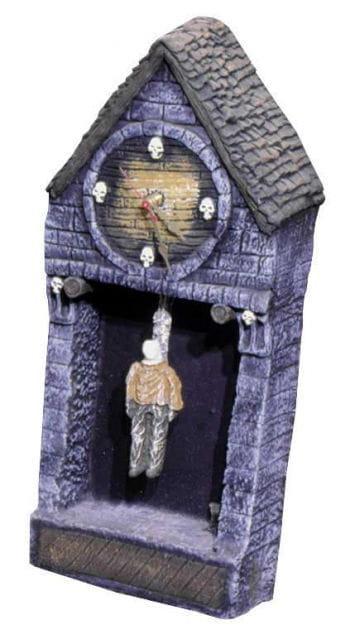 Halloween Clock / Hangman Clock