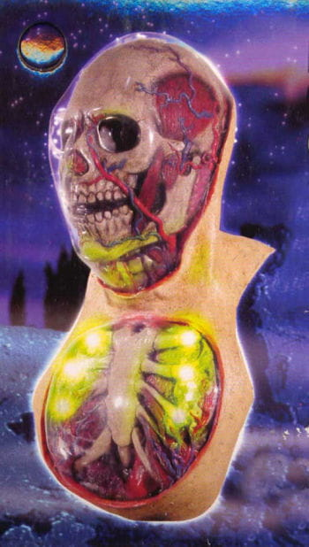 Future Skull Maske LED Effekt!