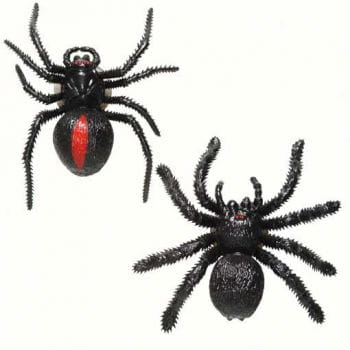 Black Spider 9 cm with Suction Cup