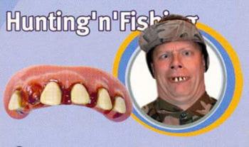 Hunting Fishing teeth
