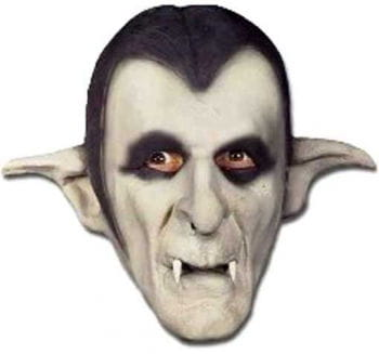 Vampire mask made of foam latex