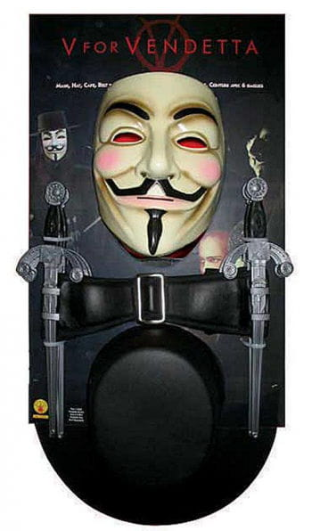 V for Vendetta Kostüm Kit