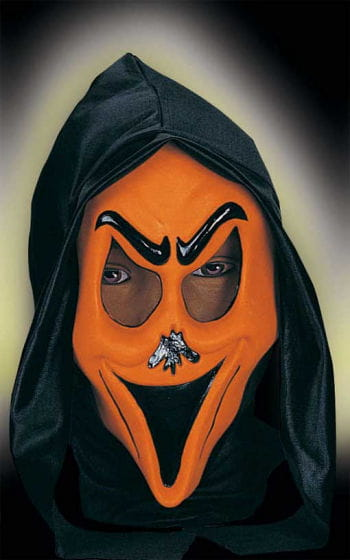 Child Funny Ghost Mask Smily Orange