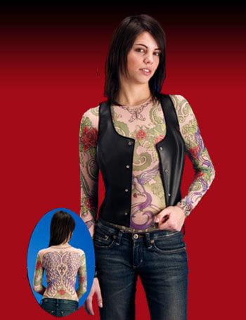 Tattoo T Shirt Girl Gr. S