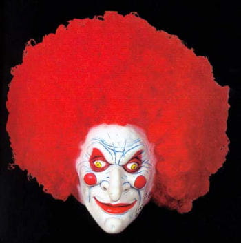 Carnie the Fire Clown Mask