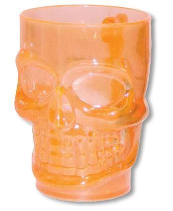 Crystal Clear Skull Beer Mug