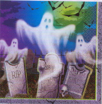 Napkins with Ghost motiv