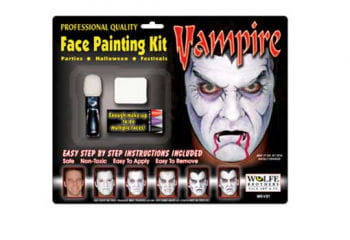 Vampir Komplett Make Up Set