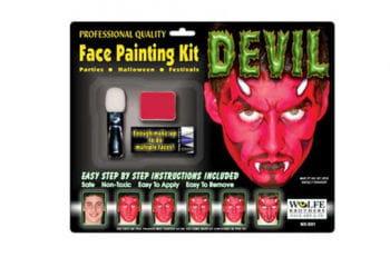 Devil Complete Make Up Set