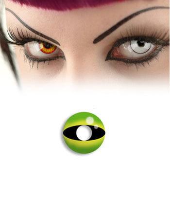 Contact lens Snake Eye