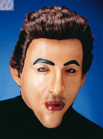 Playboy Dave Maske mit Haaren