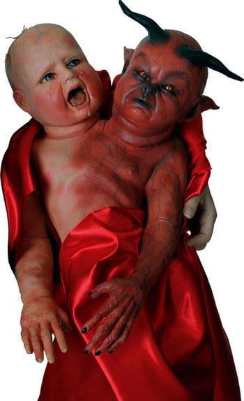 Evil Twins Hand Puppet