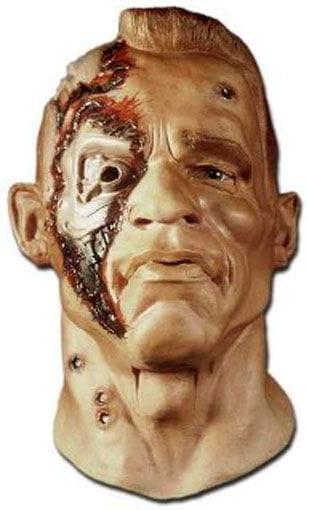 Terminator mask made of foam latex