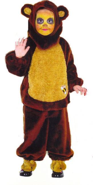 Honey Bear Child Costume Size 104