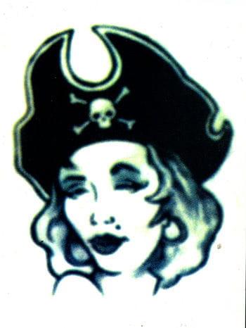 Pirate's Bride Tattoo