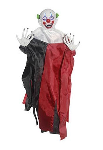 Hanging Prop 43cm Horror Clown