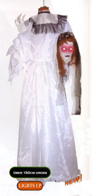 Ghost Bride with Chopped Off Head LED Lights