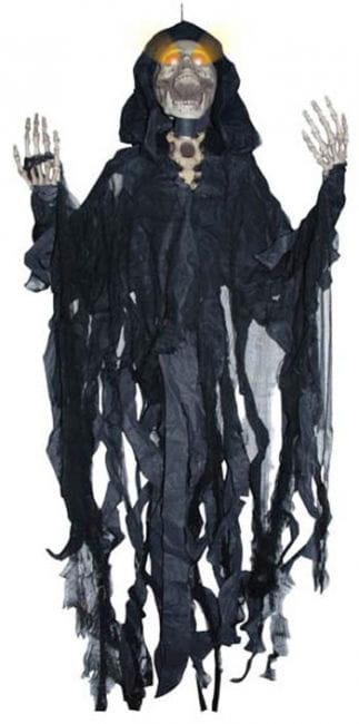 schwarzer LED Fetzengeist 150cm