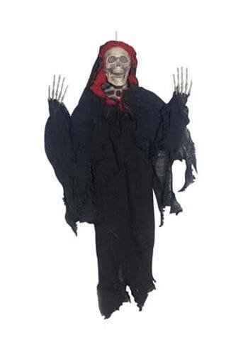 Creepy Reaperfigur rot  45cm