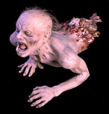 kriechender Zombie Deko Prop