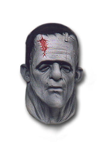 Frankenstein mask made of foam latex