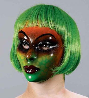 Echsenfrau PVC Gesichtsmaske