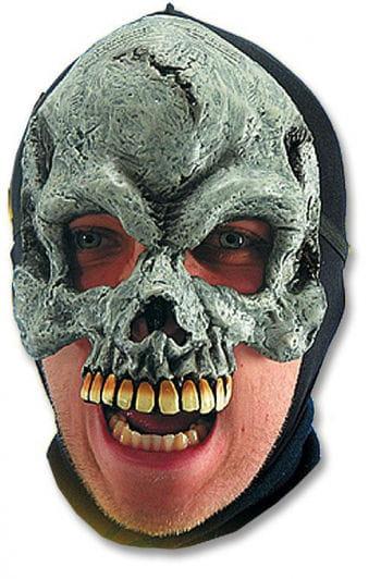 Vinyl Skull Half Mask