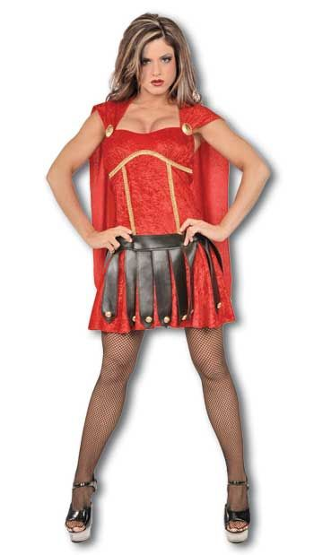 Sexy Gladiator Costume red Gr. S / 36