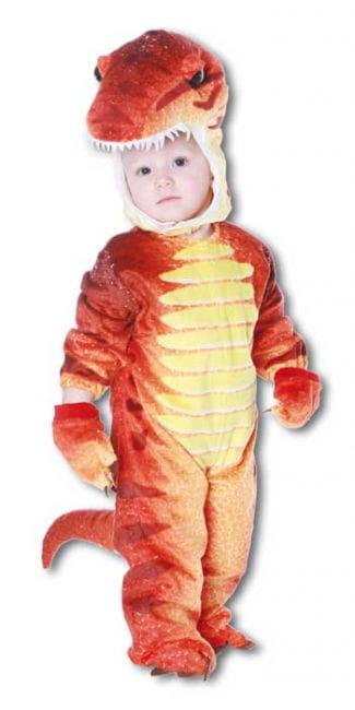 Dino Rex Kostüm Rot M