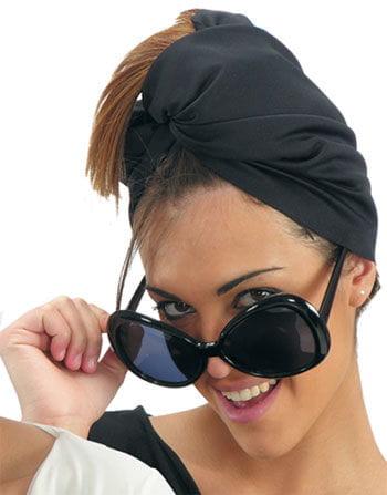 Mega Star Glasses Black