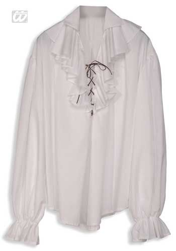 Renaissance Pirate Shirt white