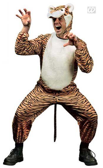 Wild tiger costume L