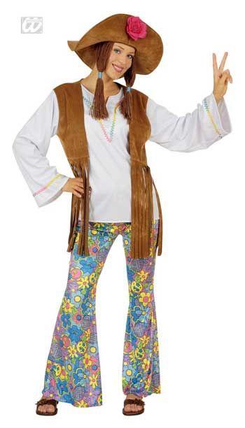 Hippie Women Costume. XL