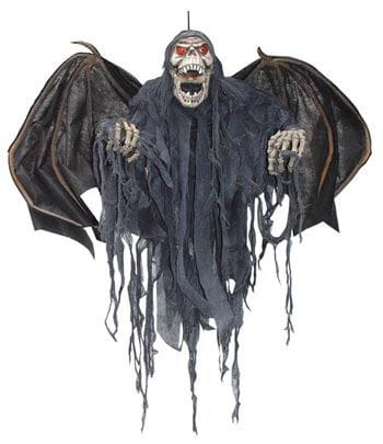 Black / Grey Winged Hell Demon