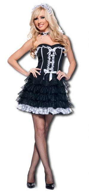 Sexy Chambermaid Premium Costume XL