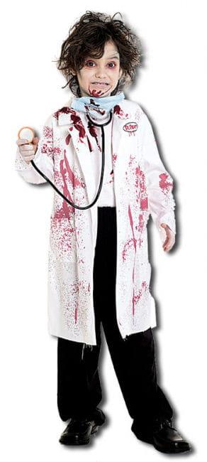 Tödlicher Chirurg Kinderkostüm Grösse L