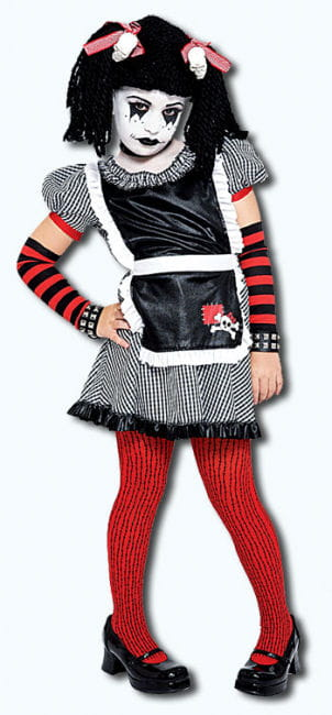 Gothic Dangling Puppet Child Costume. L