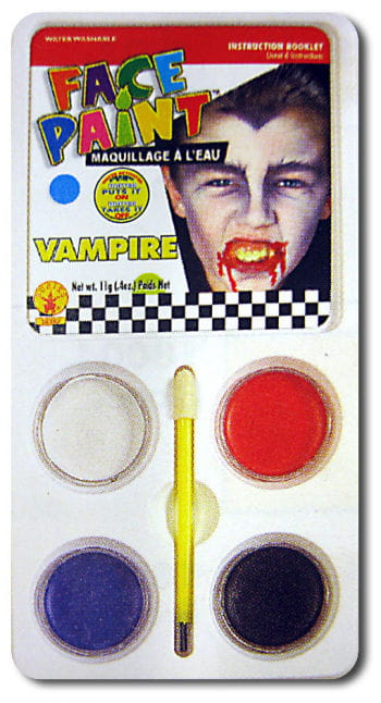 Vampir Aqua-Make Up Schminkset