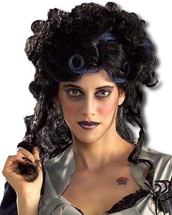 Spider Witch Wig black