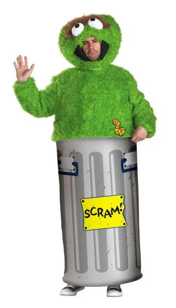 Sesame Street Oscar Costume M