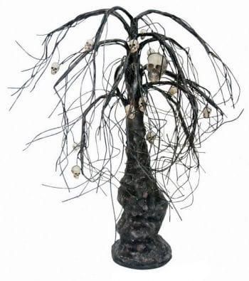 Halloweenbaum mit Totenschädel