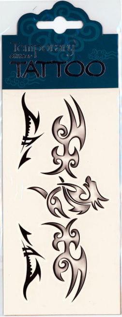 Temporary Tattoo Dragon
