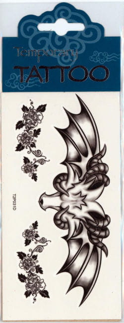 Flügel Tattoo Winged Aries