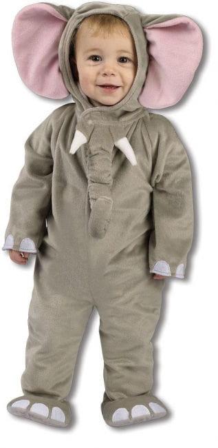 Plüsch Elefanten Kostüm 12 bis 24 Mon