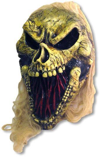 Riesen Rotten Totenschädel mit LEDs