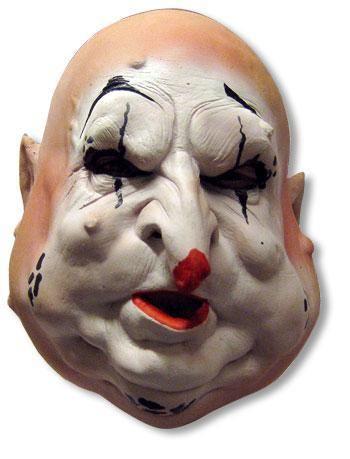 Hollow pear Clown Mask