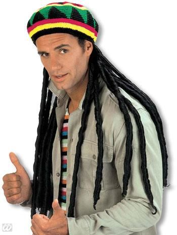 Jamaica Hat with Dreadlocks